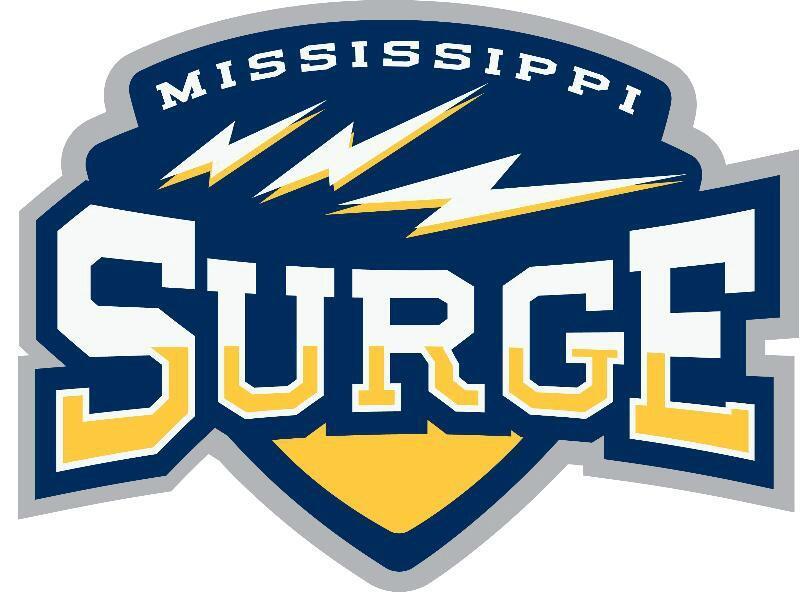 Mississippi Surge Logo Primary Logo (2013/14) -  SportsLogos.Net