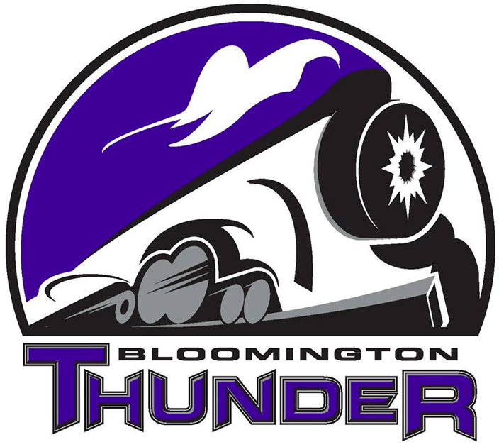 Bloomington Thunder Logo Primary Logo (2013/14) -  SportsLogos.Net