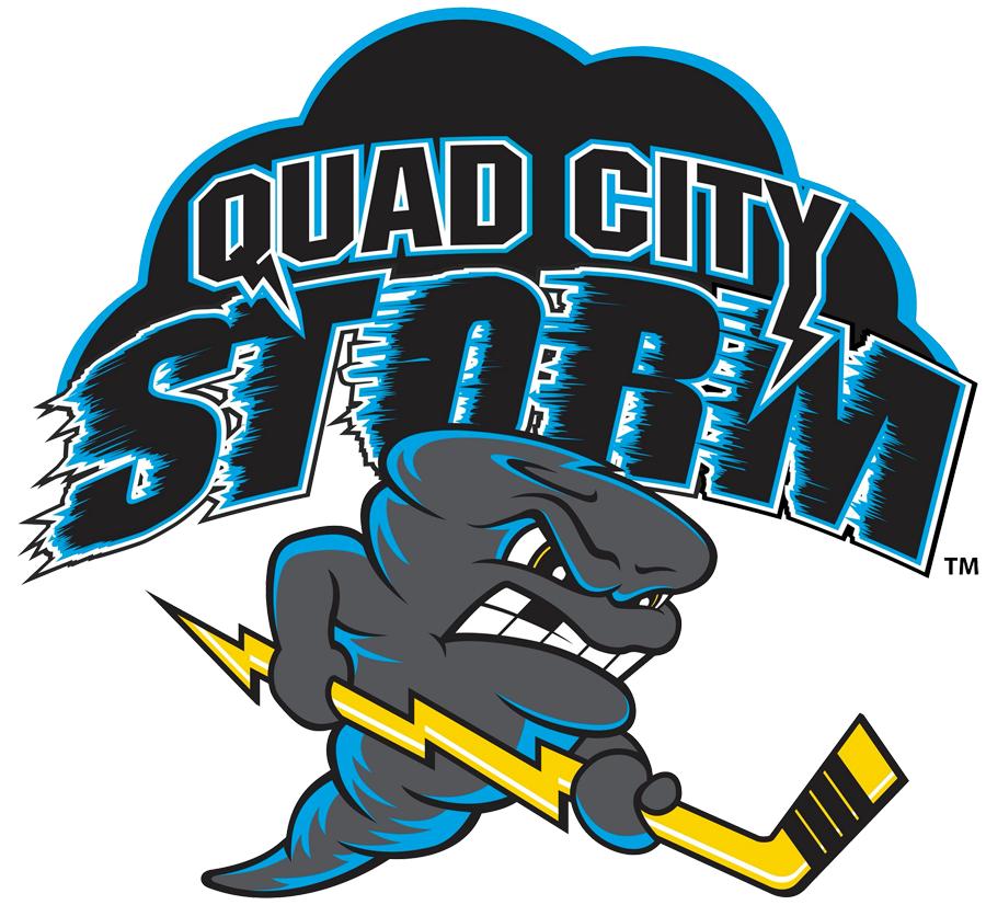 Quad City Storm Logo Primary Logo (2018/19-Pres) -  SportsLogos.Net