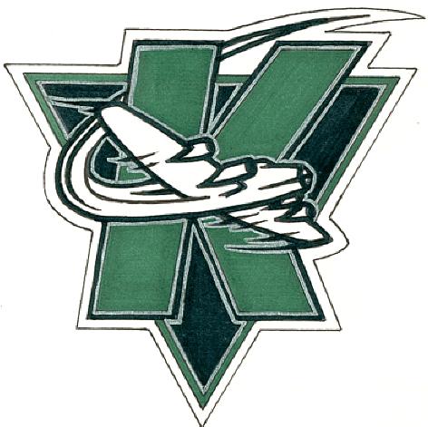 Kindersley Klippers Logo Primary Logo (1993/94-1998/99) -  SportsLogos.Net