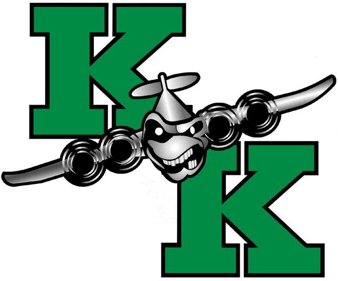 Kindersley  Klippers Logo Primary Logo (2007/08-2014/15) -  SportsLogos.Net