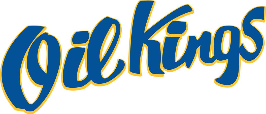 Edmonton Oil Kings Logo Wordmark Logo (2007/08-Pres) -  SportsLogos.Net