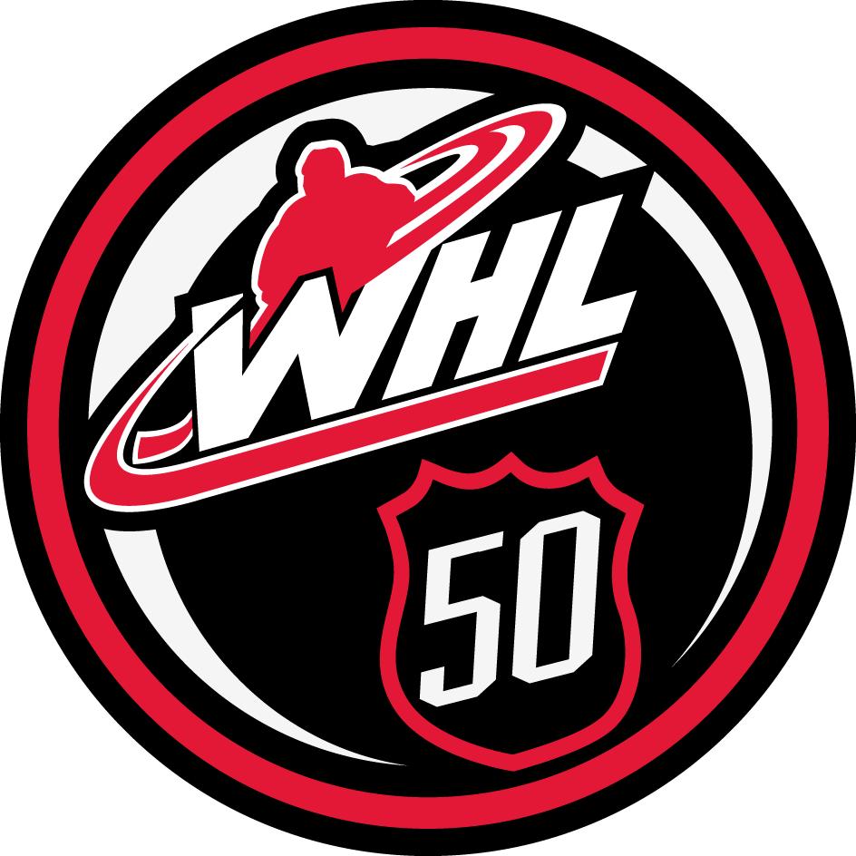 Western Hockey League Logo Anniversary Logo (2015/16) -  SportsLogos.Net