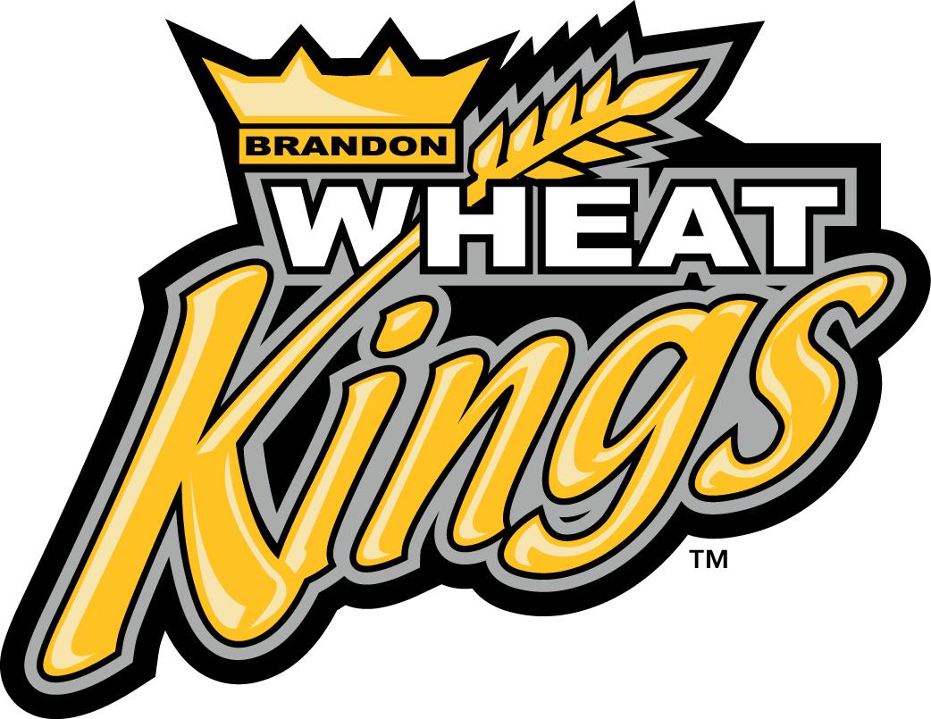 Brandon Wheat Kings Logo Primary Logo (2004/05-Pres) - Wheat growing out of K in Kings written below wheat with Crown SportsLogos.Net