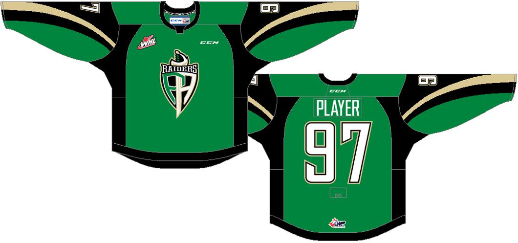 Prince Albert Raiders Uniform Road Uniform (2013/14-Pres) -  SportsLogos.Net