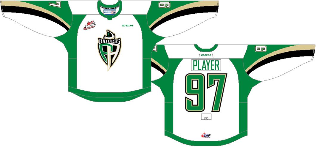 Prince Albert Raiders Uniform Home Uniform (2013/14-Pres) -  SportsLogos.Net