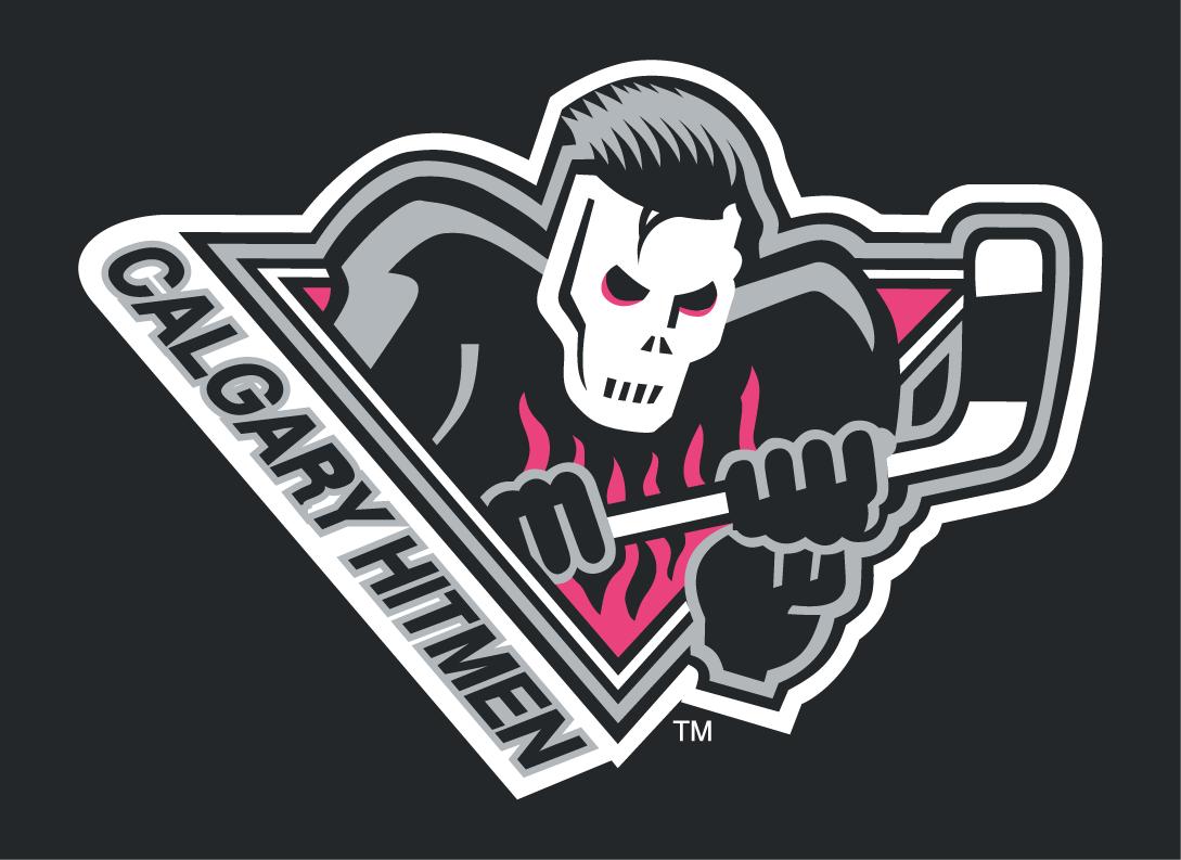 Calgary Hitmen Logo Jersey Logo (2009/10-2010/11) -  SportsLogos.Net