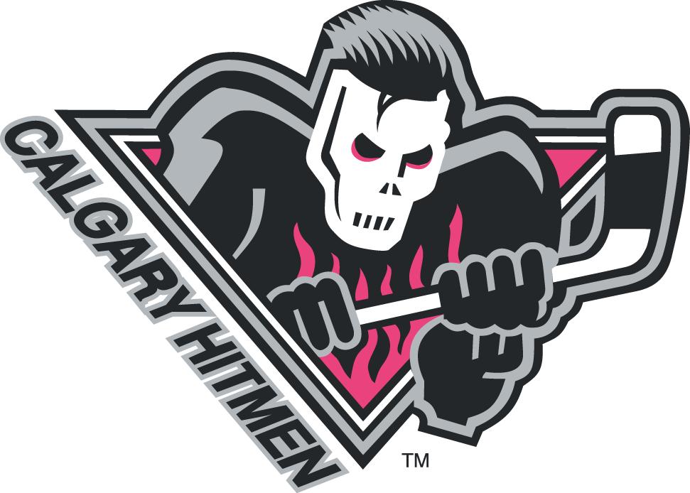 Calgary Hitmen Logo Alternate Logo (2010/11-Pres) -  SportsLogos.Net