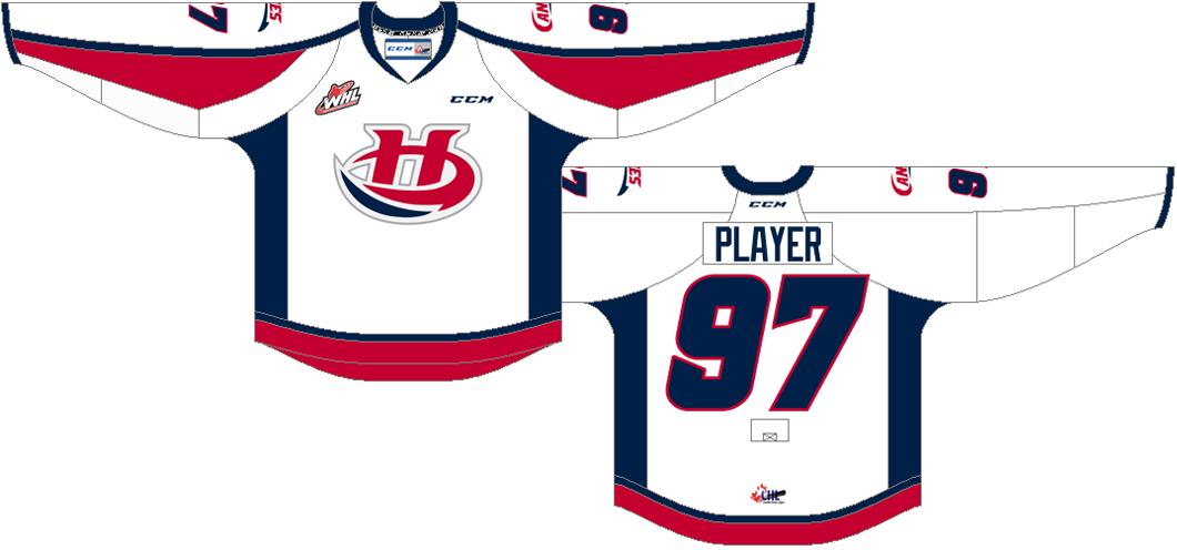 Lethbridge Hurricanes Uniform Home Uniform (2013/14-2015/16) -  SportsLogos.Net