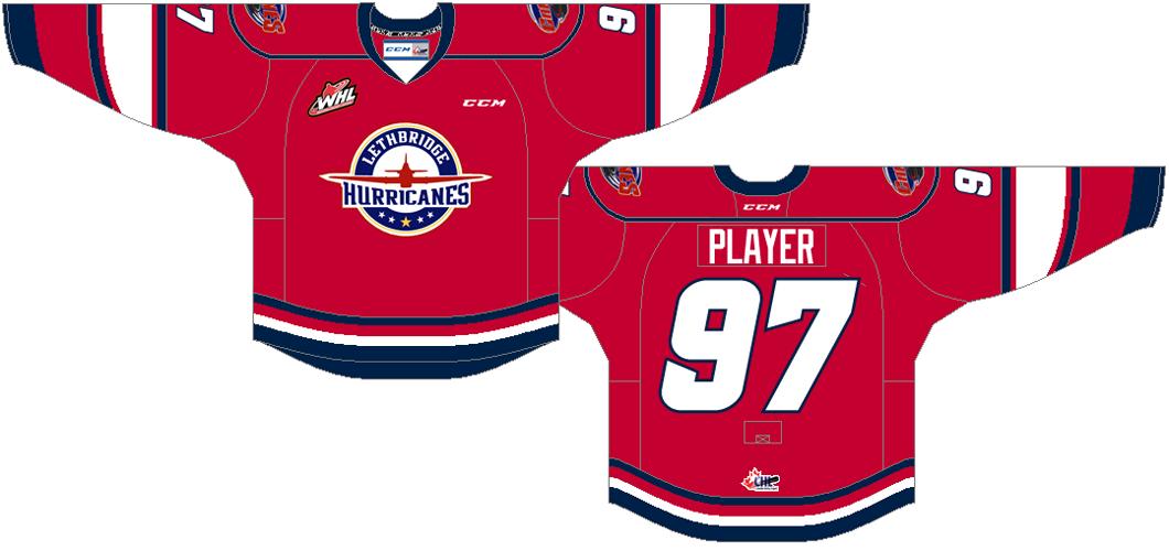 Lethbridge Hurricanes Uniform Alternate Uniform (2013/14-Pres) -  SportsLogos.Net