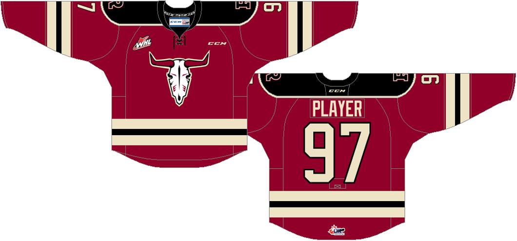 Red Deer Rebels Uniform Alternate Uniform (2014/15-Pres) -  SportsLogos.Net