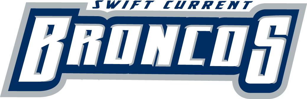 Swift Current Broncos Logo Wordmark Logo (2003/04-2013/14) -  SportsLogos.Net
