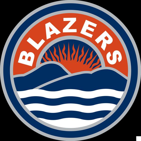 Kamloops Blazers Logo Secondary Logo (2015/16-Pres) -  SportsLogos.Net