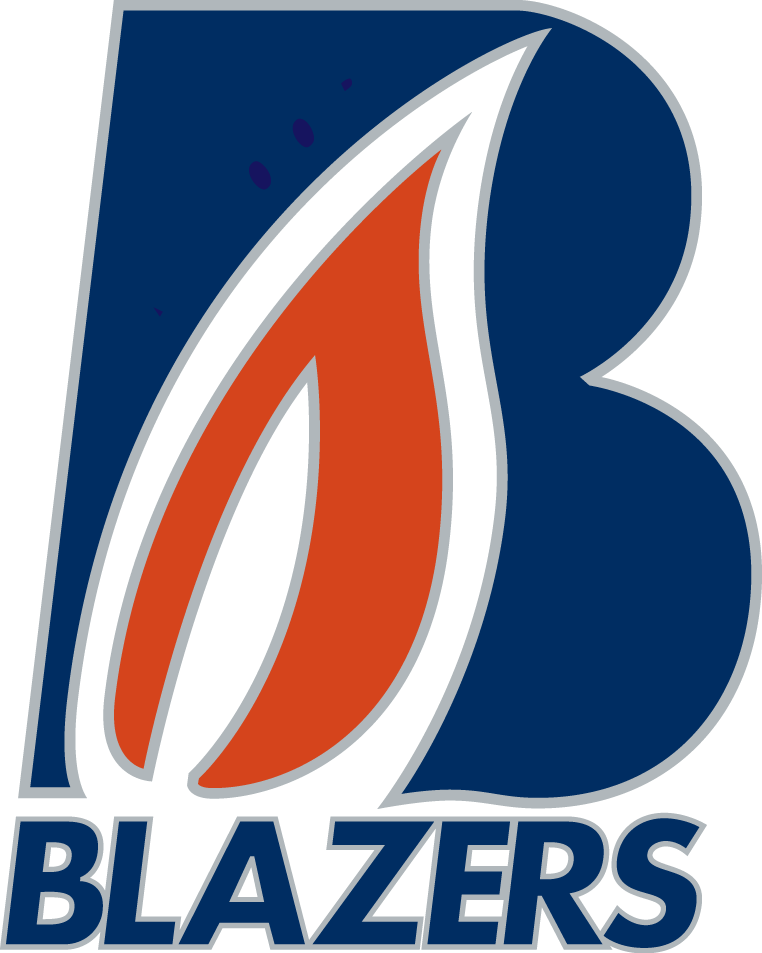 Kamloops Blazers Logo Primary Logo (2015/16-Pres) -  SportsLogos.Net