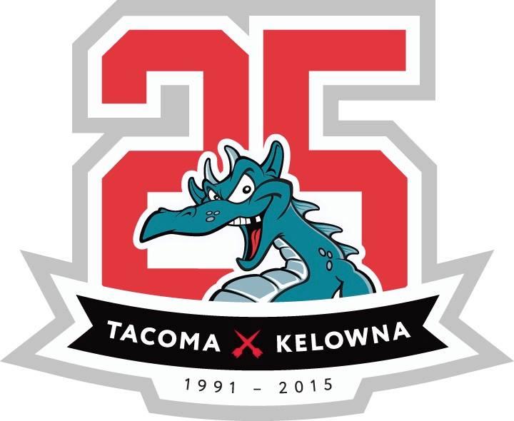 Kelowna Rockets Logo Anniversary Logo (2015/16) -  SportsLogos.Net