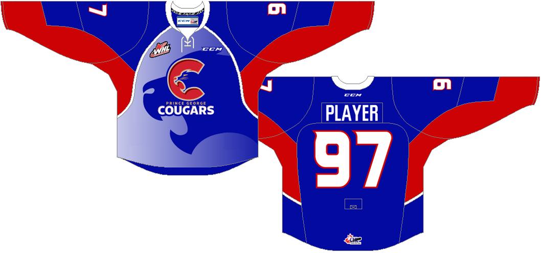Prince George Cougars Uniform Alternate Uniform (2015/16-Pres) -  SportsLogos.Net