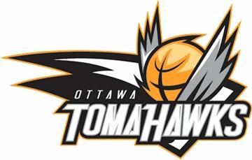 Ottawa SkyHawks Logo Unused Logo (2013/14-Pres) - via Wikipedia - Following a name-the-team contest, the team unveiled their nickname, the