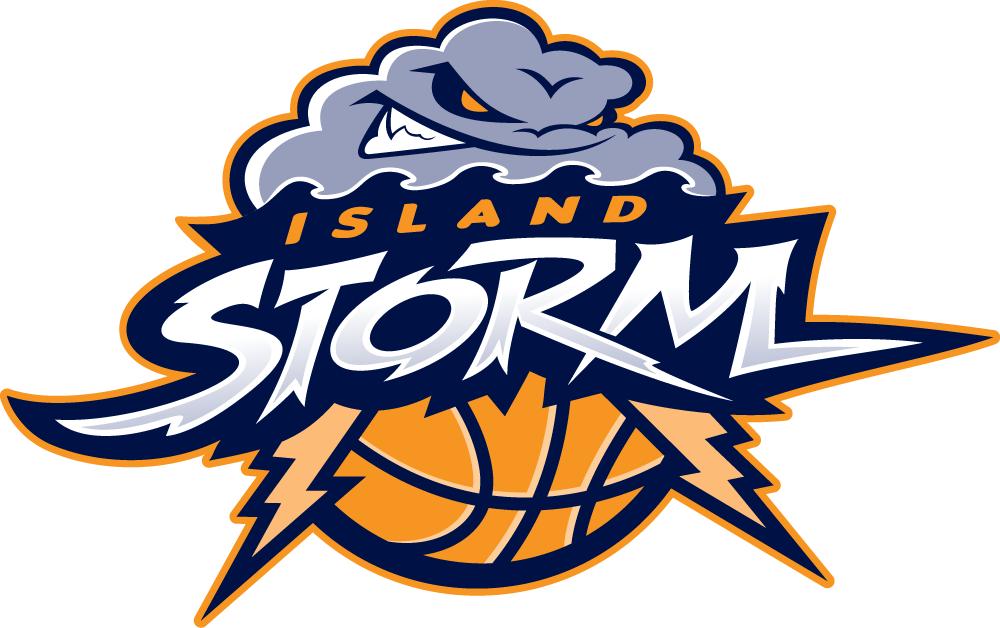 Island  Storm Logo Primary Logo (2013/14-Pres) -  SportsLogos.Net