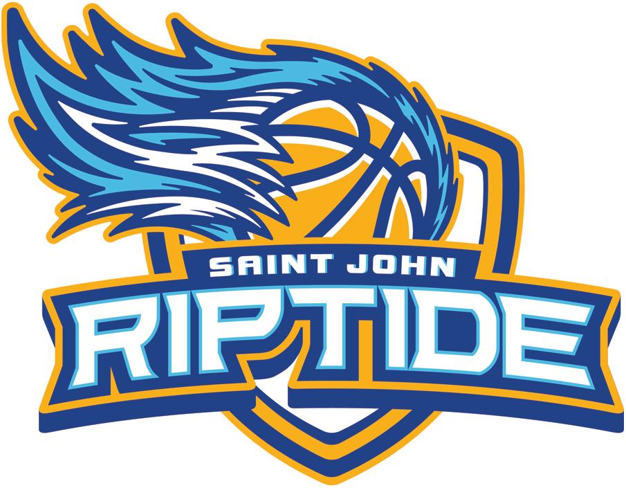 Saint John Riptide Logo Primary Logo (2016/17-Pres) -  SportsLogos.Net