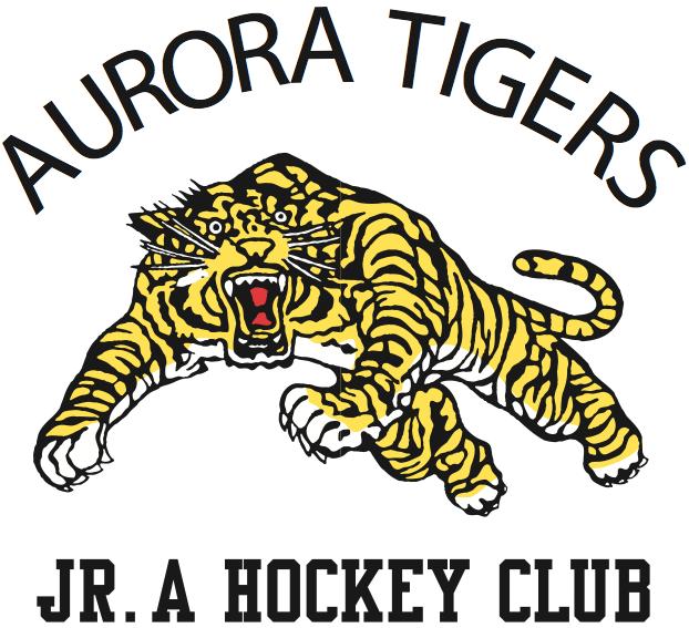 Aurora Tigers Logo Primary Logo (1997/98-Pres) -  SportsLogos.Net