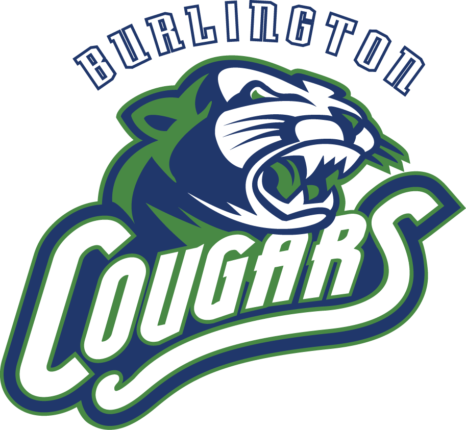 Burlington  Cougars Logo Primary Logo (2013/14-Pres) -  SportsLogos.Net