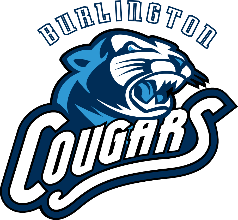 Burlington Cougars Logo Primary Logo (2008/09-2012/13) -  SportsLogos.Net
