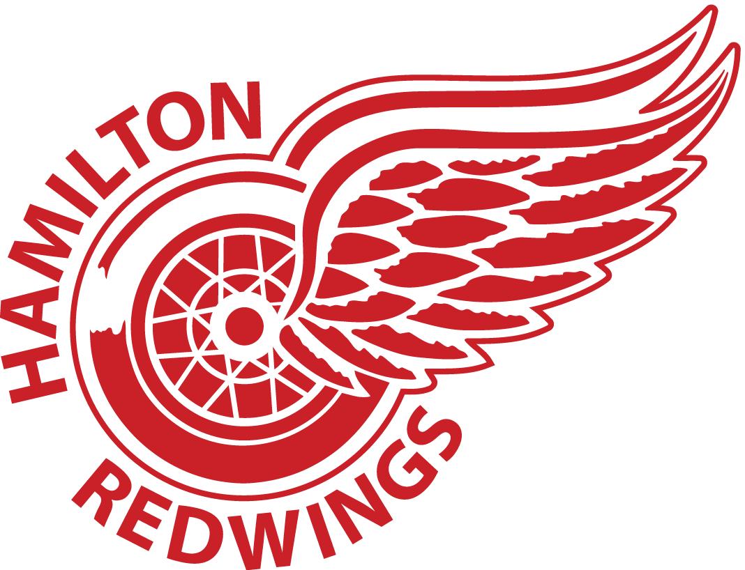 Hamilton Red Wings Logo Primary Logo (2002/03-2014/15) -  SportsLogos.Net