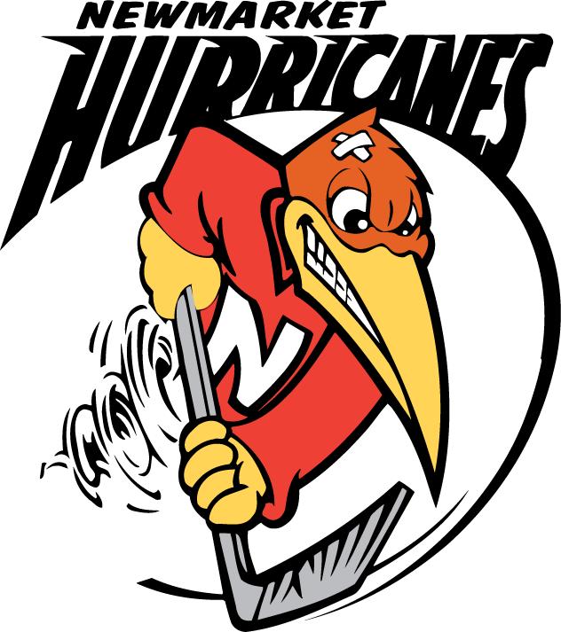 Newmarket Hurricanes Logo Primary Logo (2001/02-2013/14) -  SportsLogos.Net