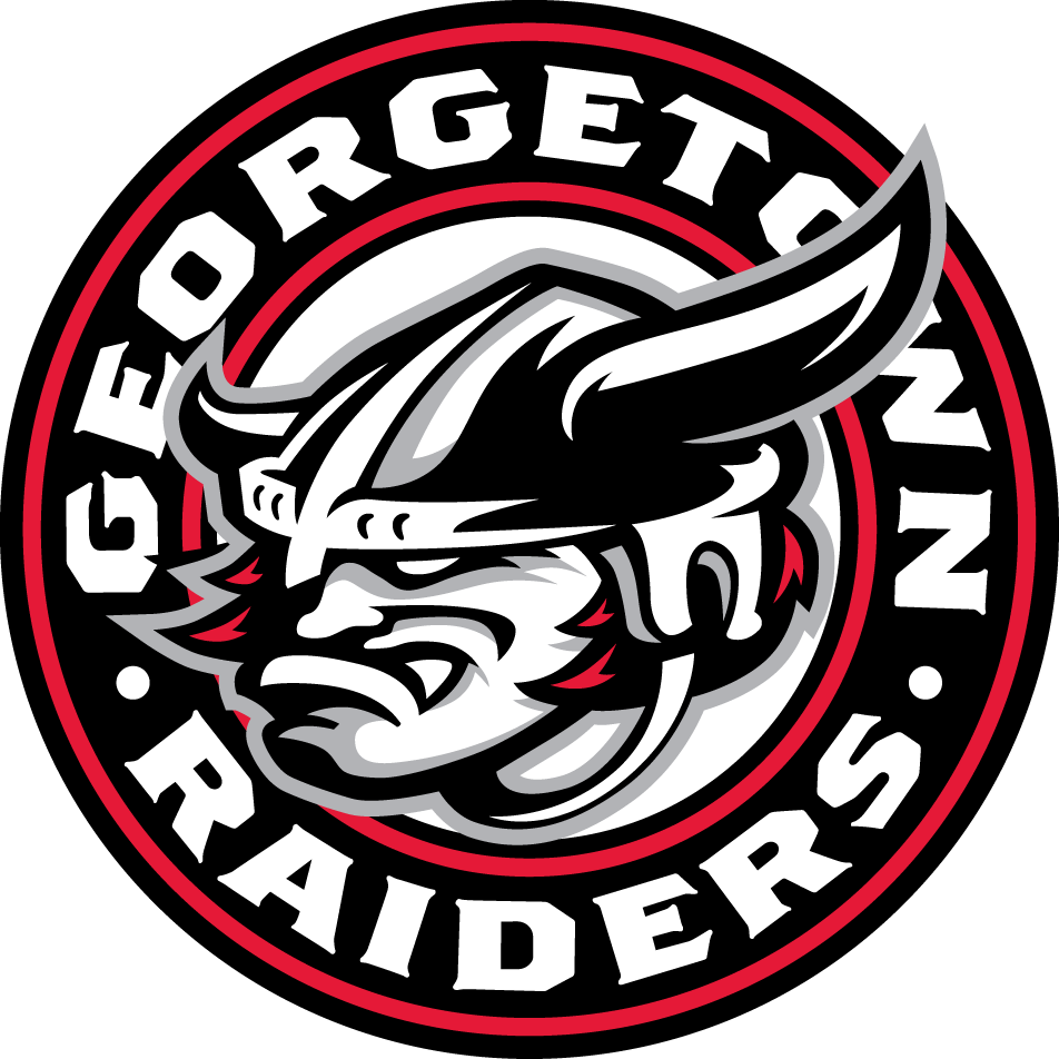 Georgetown Raiders Logo Primary Logo (2009/10-Pres) -  SportsLogos.Net