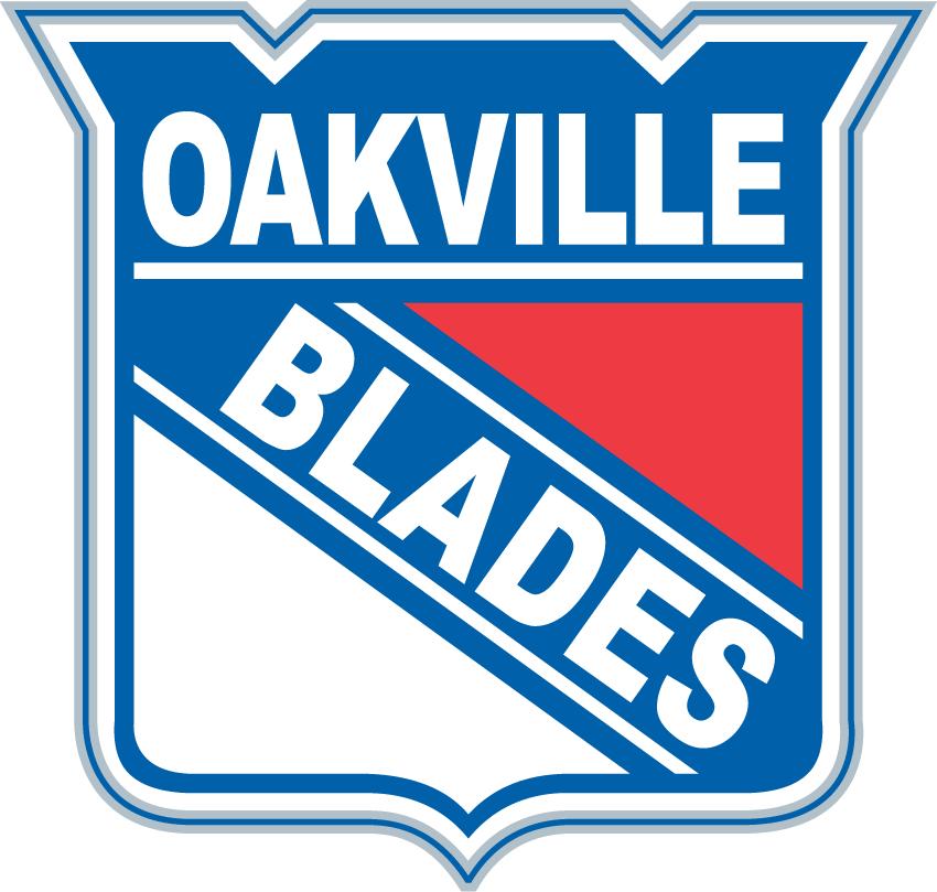 Oakville Blades Logo Primary Logo (2006/07-Pres) -  SportsLogos.Net