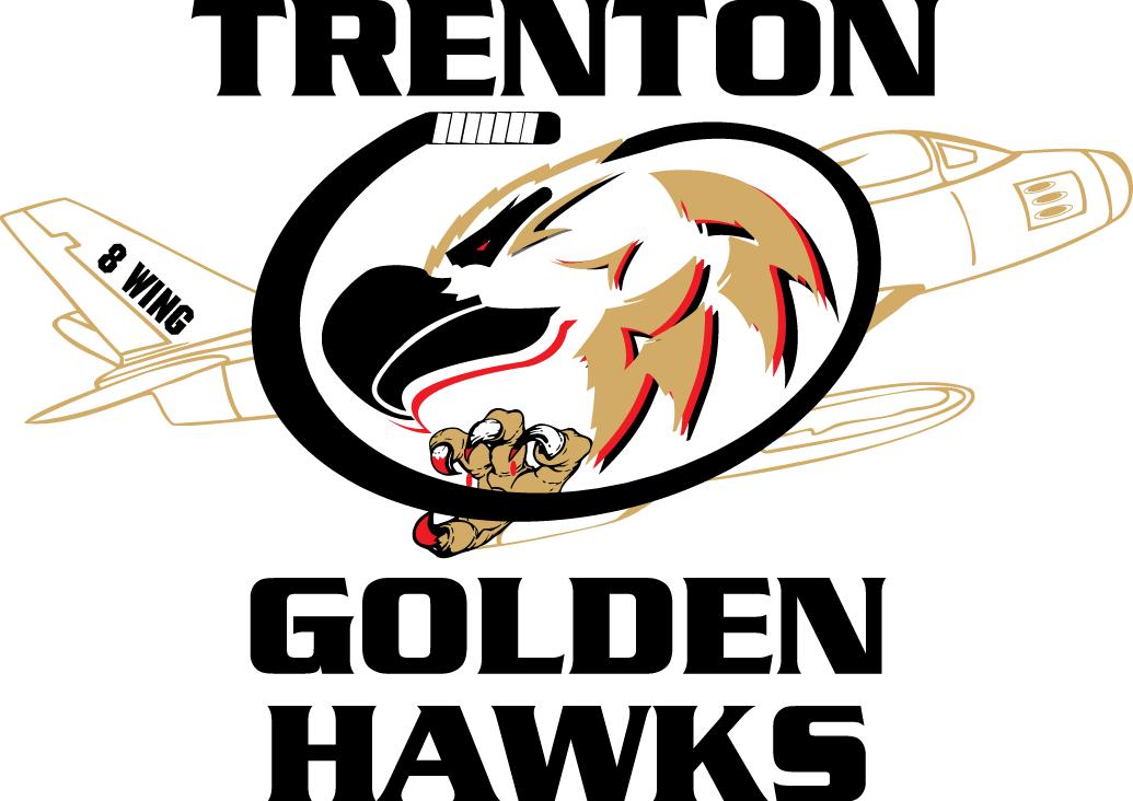 Trenton Golden Hawks Logo Primary Logo (2009/10-2014/15) -  SportsLogos.Net