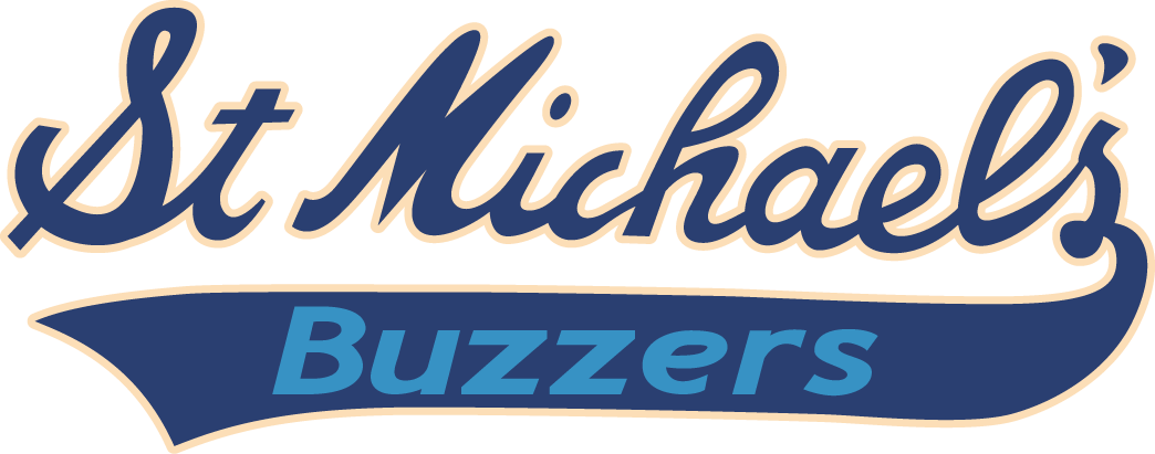 St. Michaels  Buzzers Logo Primary Logo (2001/02-Pres) -  SportsLogos.Net