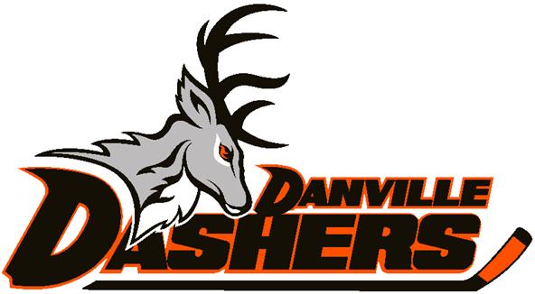 Danville Dashers Logo Primary Logo (2014/15-Pres) -  SportsLogos.Net