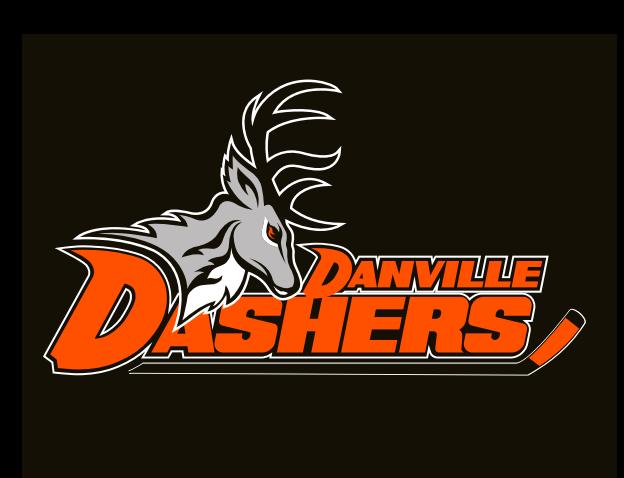 Danville Dashers Logo Alternate Logo (2014/15-Pres) -  SportsLogos.Net