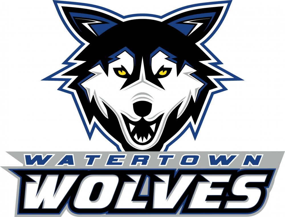 Watertown Wolves Logo Primary Logo (2014/15-Pres) -  SportsLogos.Net