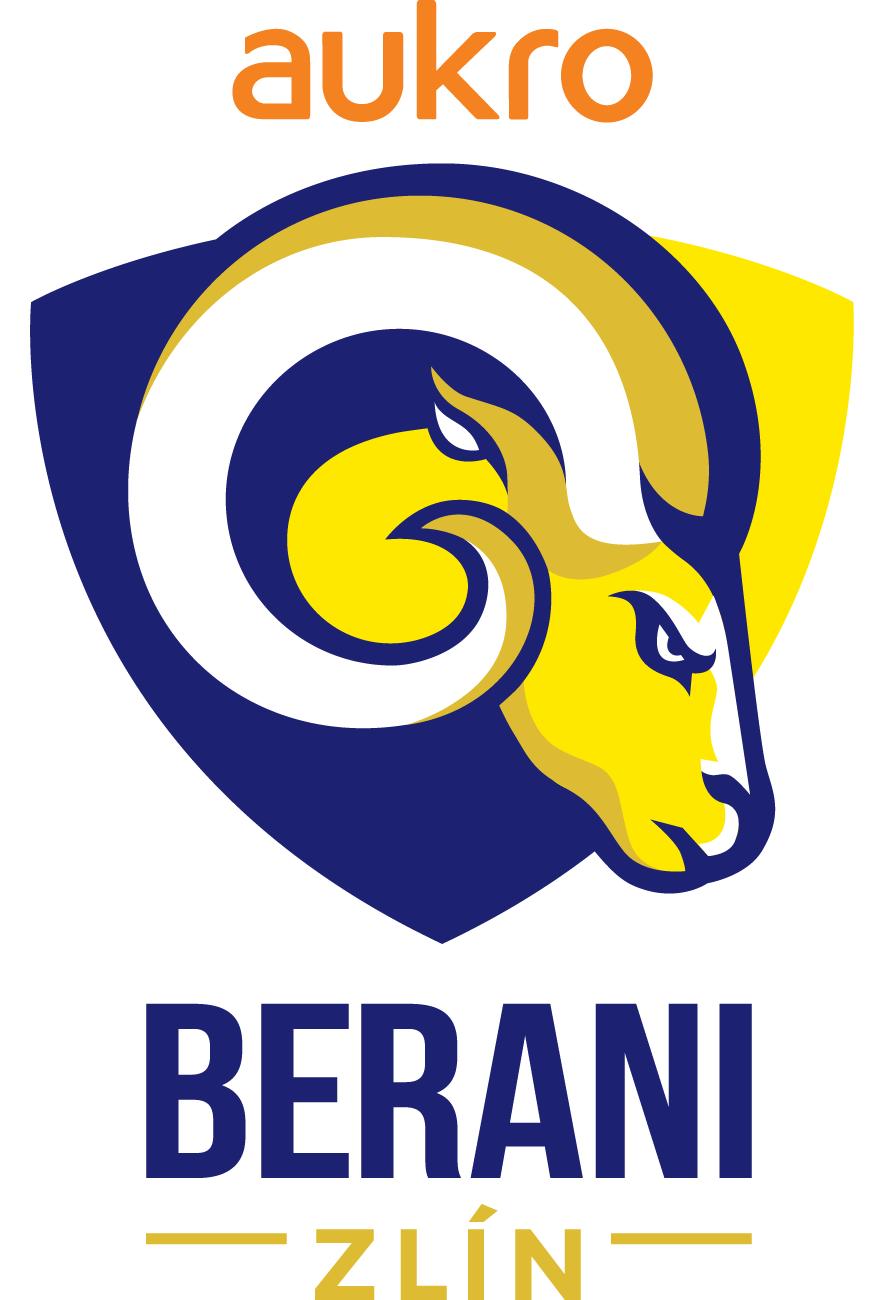 Aukro Berani Zlin Logo Primary Logo (2017/18-Pres) -  SportsLogos.Net