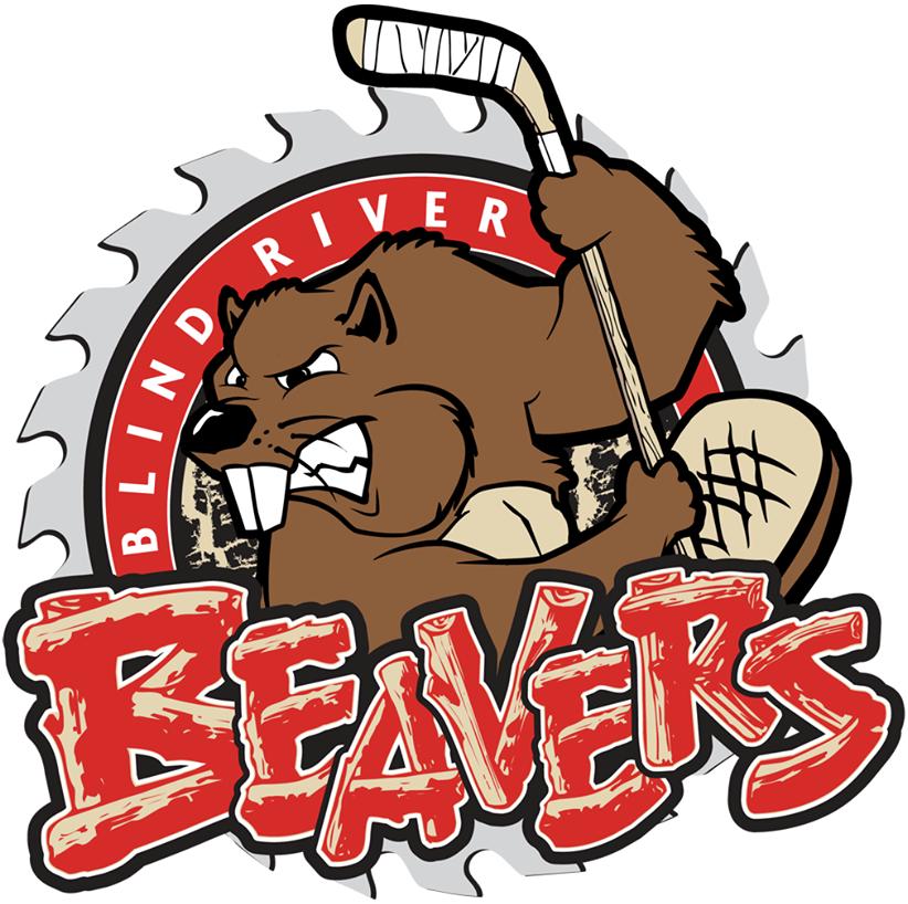 Blind River Beavers Logo Primary Logo (2014/15-Pres) -  SportsLogos.Net