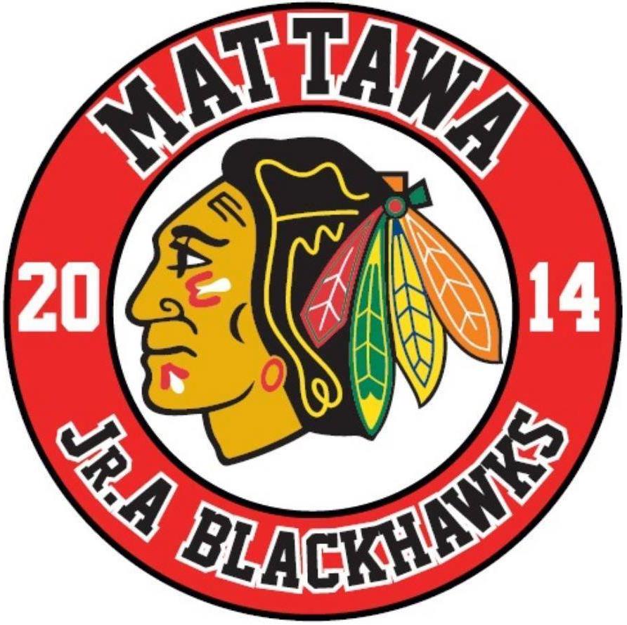 Mattawa Blackhawks Logo Primary Logo (2014/15) -  SportsLogos.Net