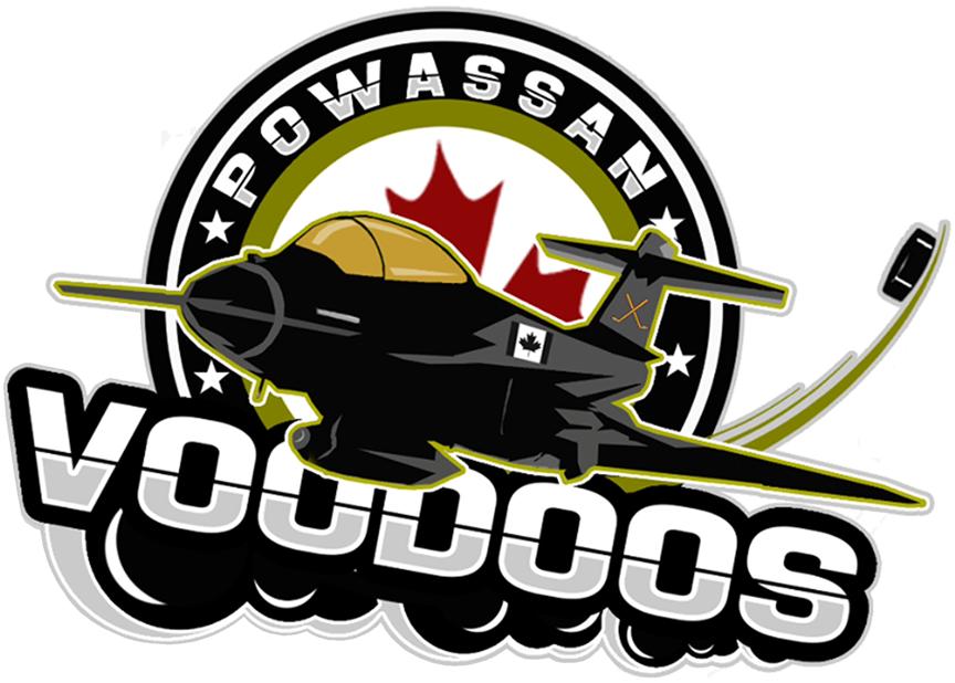 Powassan Voodoos Logo Primary Logo (2014/15-Pres) -  SportsLogos.Net