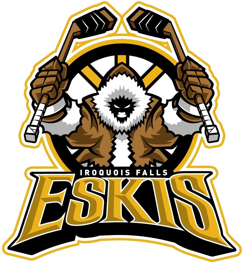 Iroquois Falls Eskis Logo Primary Logo (2015/16-Pres) -  SportsLogos.Net