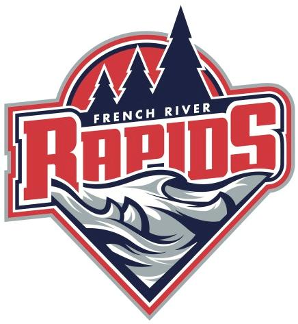 French River  Rapids Logo Primary Logo (2015/16-Pres) -  SportsLogos.Net