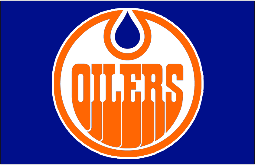 brand new c0d2f b6a76 Edmonton Oilers Jersey Logo - World Hockey Association (WHA ...