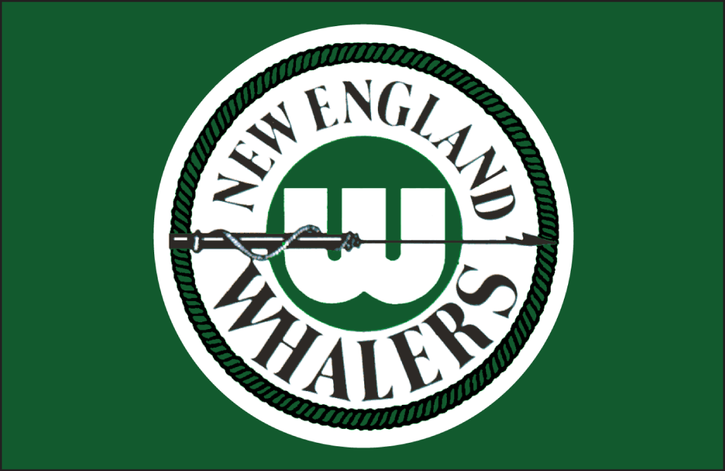 New England Whalers Logo Jersey Logo (1972/73-1973/74) -  SportsLogos.Net