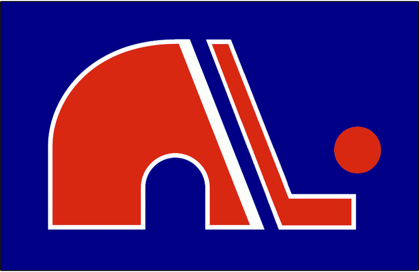 Quebec Nordiques Logo Jersey Logo (1973/74-1974/75) - Jersey crest worn on the Quebec Nordiques road jersey during the 1973-74 and 1974-75 WHA  season. SportsLogos.Net