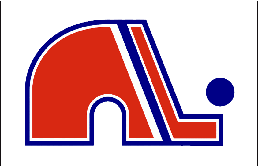 Quebec Nordiques Logo Jersey Logo (1973/74-1974/75) - Jersey crest worn on the Quebec Nordiques home jersey during the 1973-74 and 1974-75 WHA seasons SportsLogos.Net