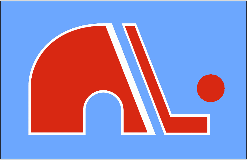 Quebec Nordiques Logo Jersey Logo (1972/73) - Jersey crest worn on the road jersey during the Quebec Nordiques and the WHA's inaugural 1972-73 season. SportsLogos.Net