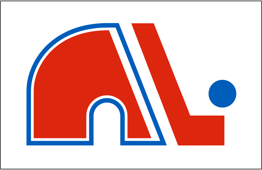 Quebec Nordiques Logo Jersey Logo (1975/76-1978/79) - Jersey crest worn on the home jersey from 1975-76 to 1978-79 season in the WHA and during their first NHL season. SportsLogos.Net