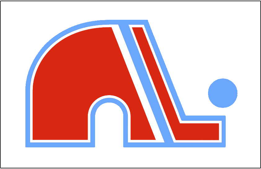 Quebec Nordiques Logo Jersey Logo (1972/73) - Jersey crest worn on the home jersey during the Quebec Nordiques and the WHA's inaugural 1972-73 season. SportsLogos.Net
