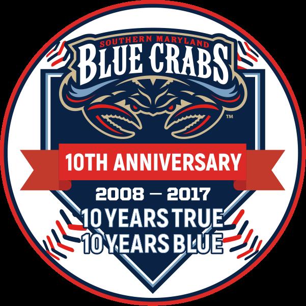 Southern Maryland Blue Crabs Anniversary Logo - Atlantic ...