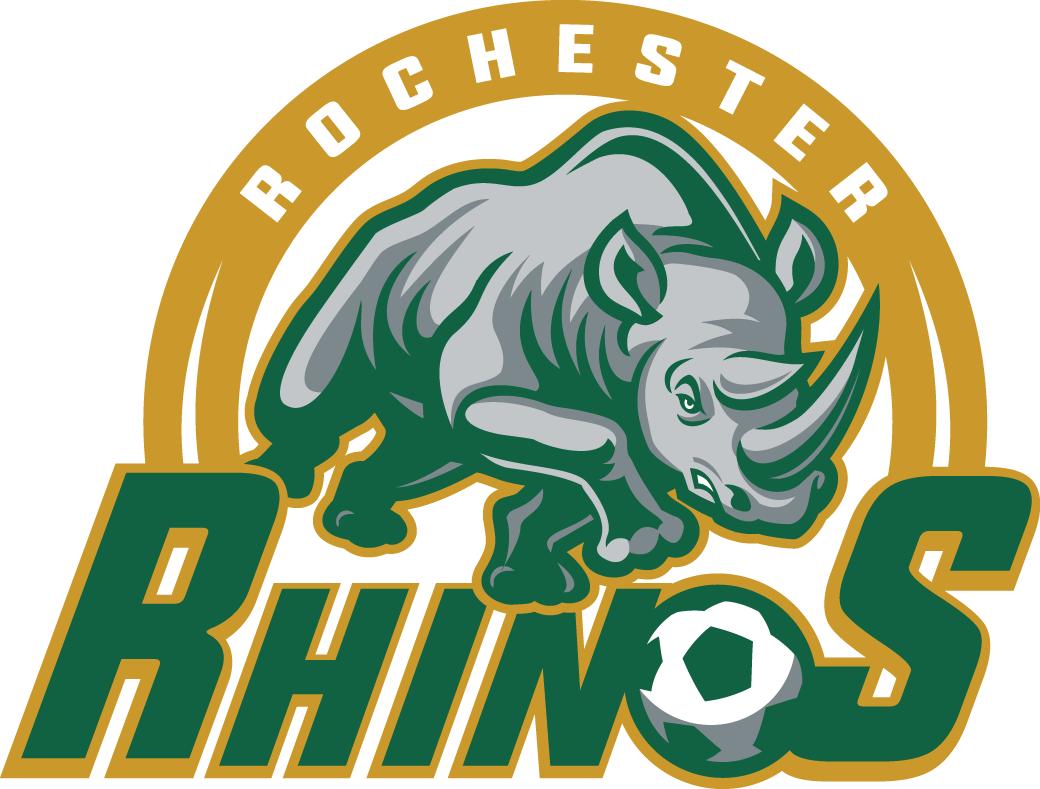 Rochester Rhinos Logo Primary Logo (2016-Pres) -  SportsLogos.Net